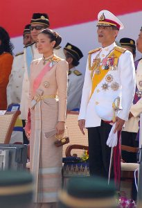 Crown Prince Vajiralongkorn and Princess Srirasmi in 2007 (Commons: Amrufm CC BY 2.0)