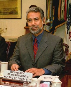 Xanana Gusmão in 2002