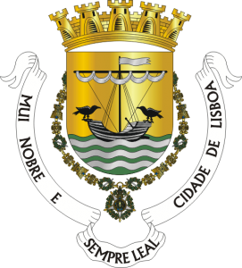 The coat of arms of Lisbon